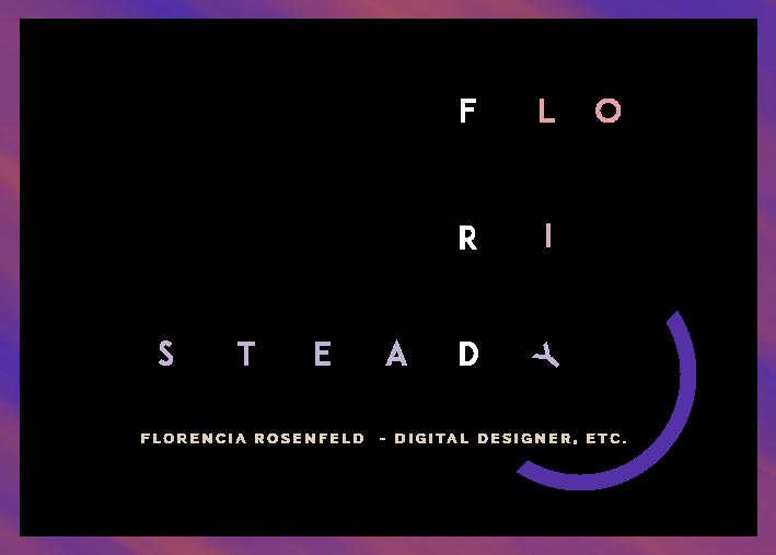Floristeady | Florencia Rosenfeld