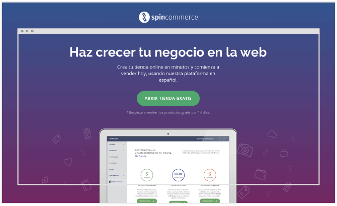 spincommerce web